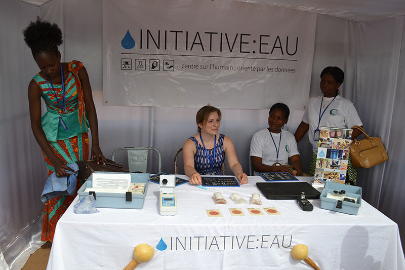 Initiative:Eau's booth