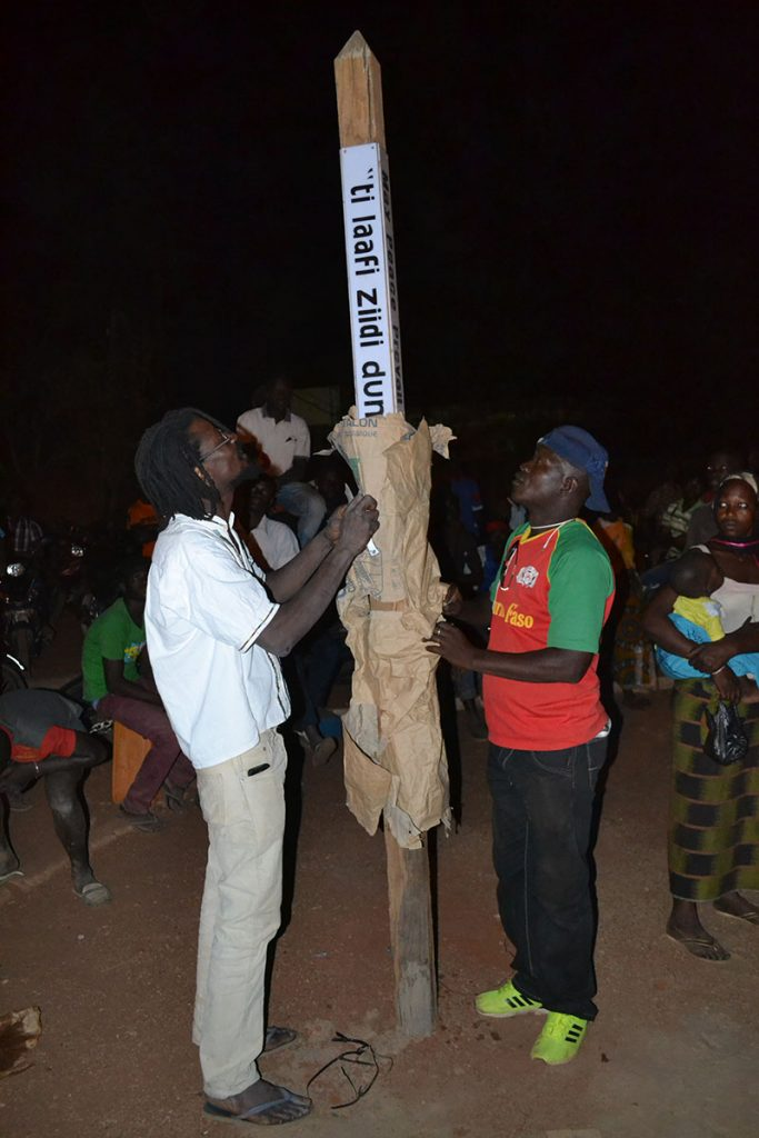 Unveiling the Peace Pole