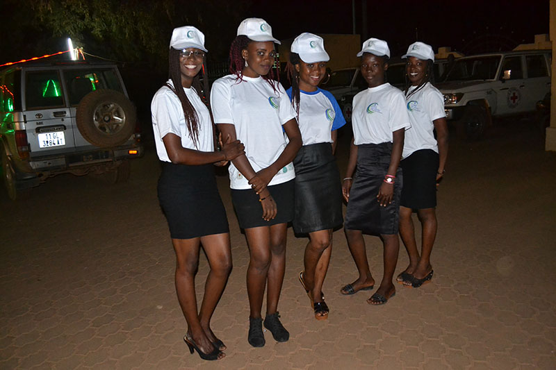 Hostesses for the Gala