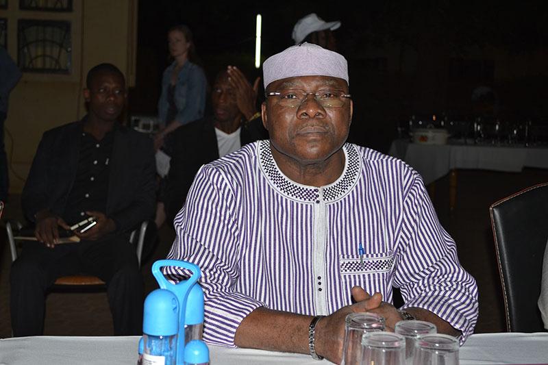 Minister of Mines, Oumarou Idani