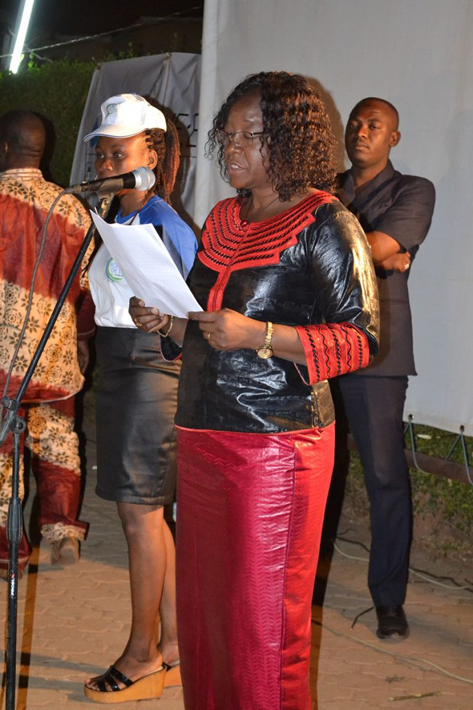 Words from the First Lady, Madame Sika Kabore