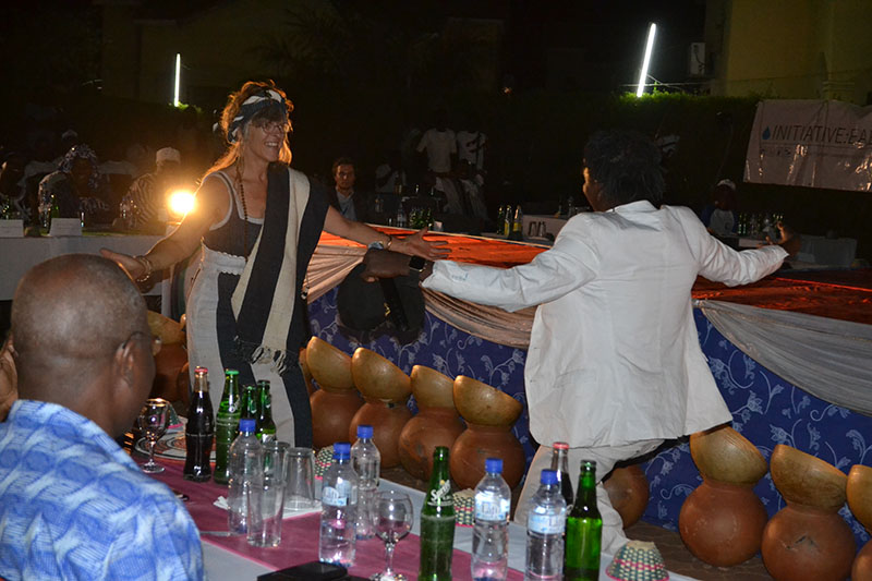 Ina dances with Prince Omar