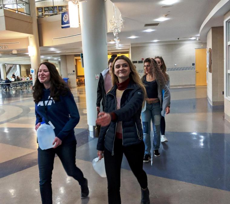 Swampscott High School Walks for Water on Water Day